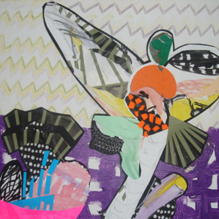 maggie kempinska kempinski kunstner contemporary artist art collages prints mixed media talr kunstner kunst art artist collager illustrations illustrationer