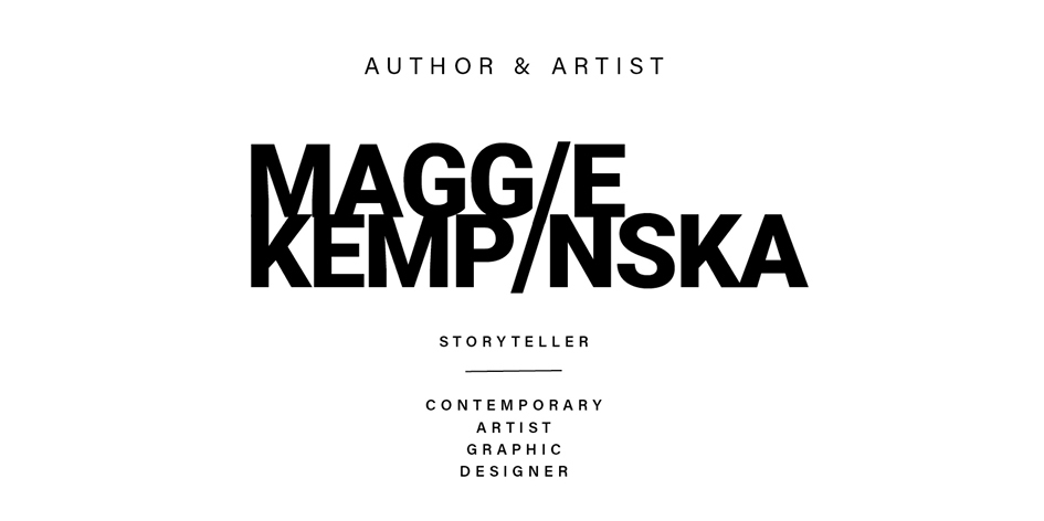 Artist, Graphic Designer and Copywriter